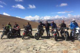 Everest base camp motor bike trip in Tibet