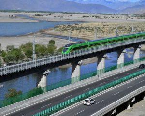 Lhasa to Nyingtri ( Nyingchi )  rail way: